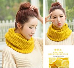 Korean thicken warm winter neckerchief/Autumn winter knitting wool scarf