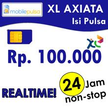Pulsa XL Rp. 100.000- REALTIME 24 jam non-stop! Menambah Masa Aktif (Mohon baca cara pengisian di bawah)