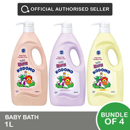[Lion] Kodomo Baby bath 1L  [Bundle of 4]