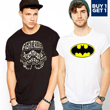 1 + 1_ Fantasia Men T-Shirts My Heroes - 2018 Collections Update -Special Deal !!!