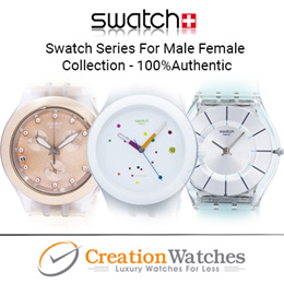 [CreationWatches] Swatch Series For Male  Female Collection - 100% Authentic