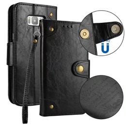 Samsung S8/S8 Plus Retro Leather Flip case   24186