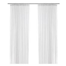 IKEA ikea LILL Net curtains 1 pair white /  Curtain 560x250cm