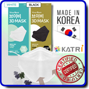 FDA approval / Premium 3D Face Mask 10pcs x 5Pack / Disposable Adult /Direct From Korea / surgical