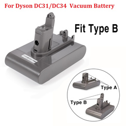 Li-ion Vacuum Battery For DC35 DC45 DC31 DC34 DC44 DC31 Animal DC35 Animal917083-01