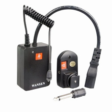 WSAC-041 Wireless Flash Trigger with Hot Shoe Connector AC-04 for Universal Studio External Flashes and Nikon Canon Olympus Pentax DSLR Camera