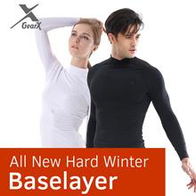 [GearX] Men/Women All New Hard Winter Baselayer - Compression Wear/Functional Underlayer/Underwear