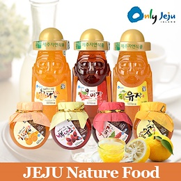 JEJU Nature Honey / Omija / Yuja Citrus Tea Korean Healthy Drink Super Foods Delicious Sweet BEST