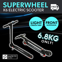 ⚡NEW STOCK⚡$271 ONLY Free Delivery⚡Superwheel K6 Electric Scooter
