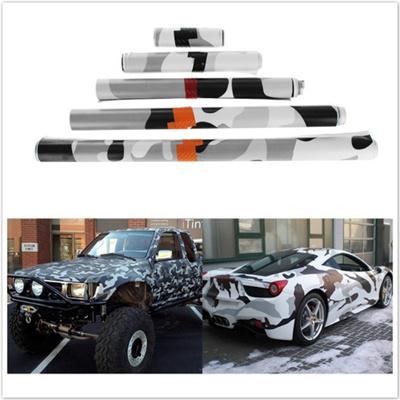 Qoo10 Black White Camo Vinyl Wrap Car Motorcycle Decal Mirror Diy