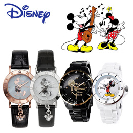[BIG★SALE] 【DISNEY】 Authentic Disney Watch for Women Wristwatch / KIDS WATCH / LADY WATCH ♥Mickey mo