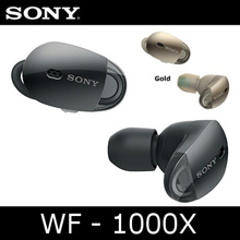 [Sony] WF-1000X Wireless Noise Cancelling Headphones / Wire free noise free stress free /