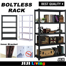 ★Adjustable★Boltless Rack★3/5 Tier★Perfect for Home usage★ No bolts★Easy assembly★Easy Storage★
