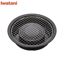 이와타니(Iwatani) 숯불구이 플레이트 철판 바베큐 CB-P-AM3