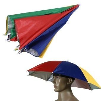Qoo10 - Watermelon Peel Umbrella Hat Cap Sun Shade Camping Fishing ... 166993295d712