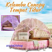 [ BEST ITEM !! ]  KELAMBU CANOPY TEMPAT TIDUR KL78 180 x 200cm