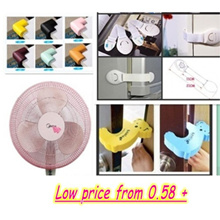 Kid's Safety Products/Fan Protection Cover /Safety Lock/ Cabinet Lock/ Drawer Lock/Door Stopper /LED