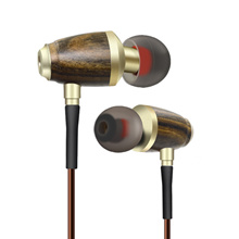 Wood In-Ear Earphone for Xiaomi/iPhone/Samsung Bass HIFI Fever Headset Earbuds with Mic