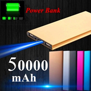 Ultra-thin Polymer Power Bank 360000mAh for Mobile Phone Universal Charger