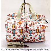Tas Wanita Import Cath Kidston Diapers Travel Bag 2F 1209 - 1