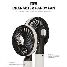 [ BT21 ] BTS CHARACTER HANDY FAN