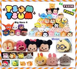★ Tsum Plush ★tsum tsum/Pokemon/soft toy/ princess/ frozen ♥ cartoon toy♥Characters ♥ kids Birthday