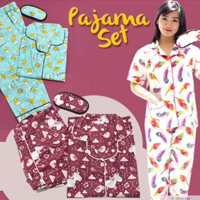 (EYEMASK SOLD) PAJAMAS NEW COLLECTION Deals for only Rp70.000 instead of Rp70.000