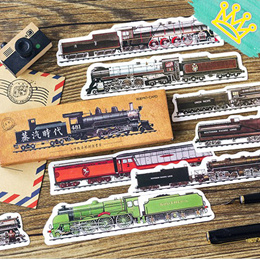 PAPER BOOKMARK TRAINS 30pc SET STATIONERY GOODIE BAG CHRISTMAS