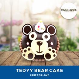 [DESSERT] Cake Teddy Bear /Tous Les Jours /TLJ