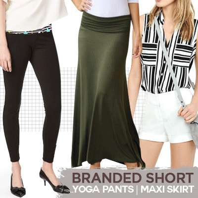 [FREE TANKTOP] BRANDED WOMEN SHORT PANTS Deals for only Rp50.000 instead of Rp50.000