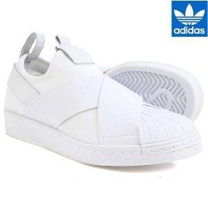 uk availability 600e2 6df49 [Authentic] Adidas Superstar Slip on (BZ0111)