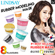 [XIAOMEISG] Lindsay - Rubber Modelling Mask 8 Different Choices to Choose (Mix Stir Mask Up / Ready Stocks)