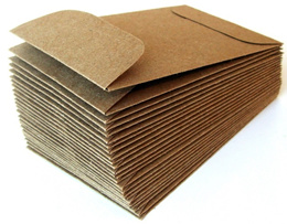 High Quality Brown Kraft Envelope - Peel and Seal(20 pieces). No Glue or water needed. Buy 400 pieces Free 100 pieces!
