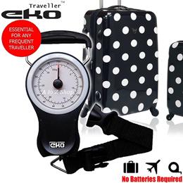 Eko Traveller [SPORE] Electronic Digital LCD Luggage Scales WITH BELT/Hanging Weighing Digital Bags