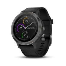 Garmin vivoactive 3 (Black with Slate Hardware) - Covered 1-Year Local Warranty