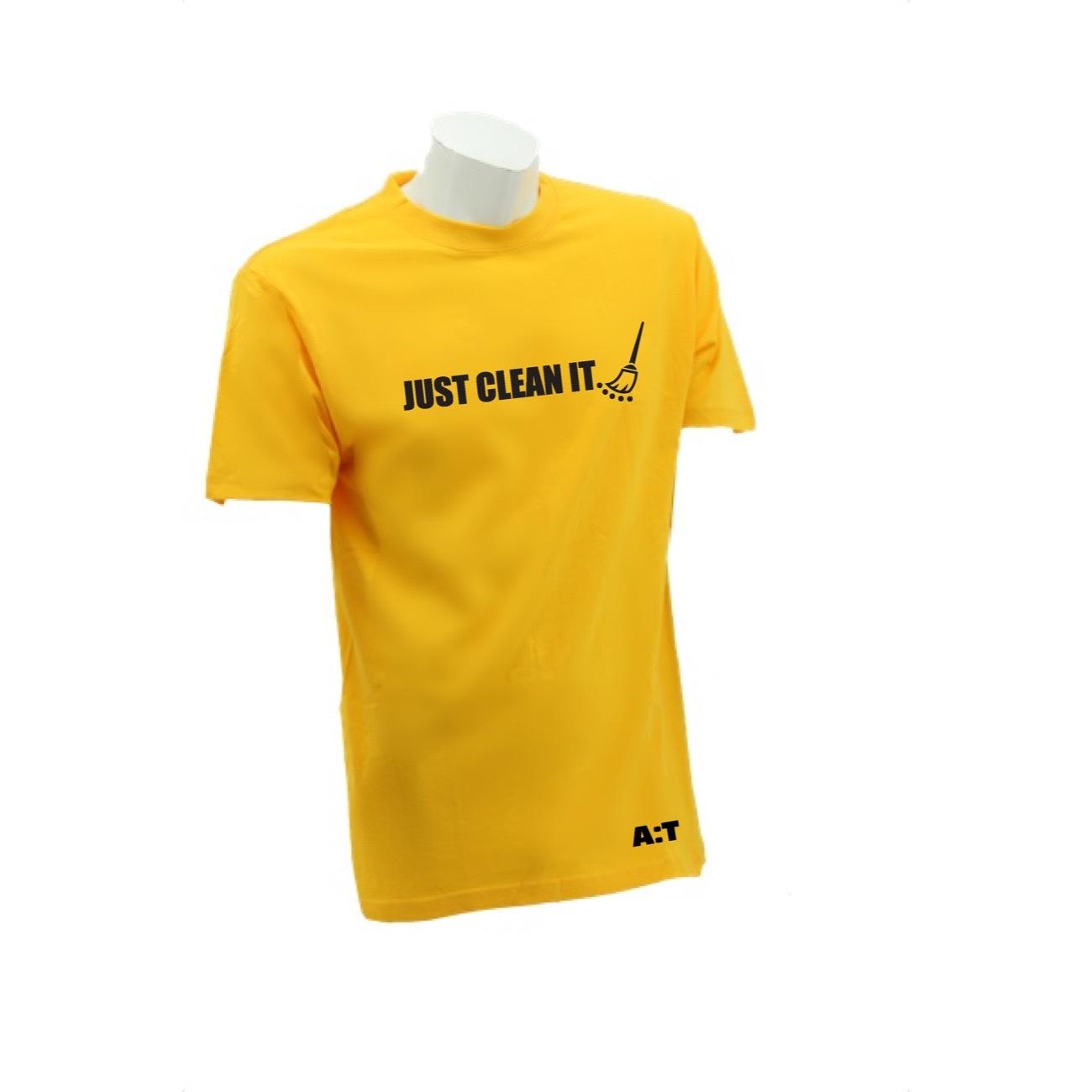 【 Bersih 】[ Bersih 5 ] Limited Edition Just Clean It T- Shirt Design for  Unisex