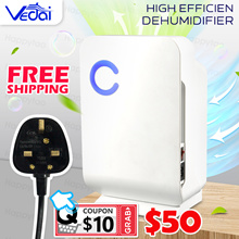 Last Few Hour⚡Free SHIP⚡High Efficiency Dehumidifier+Air Purifier Automatic Electronic Mildew Killer