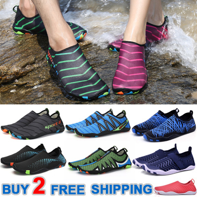 retail prices excellent quality new styles Qoo10 - Buy 2 Free Shipping Unisex Skin Shoes Aqua Shoes Swimming ...