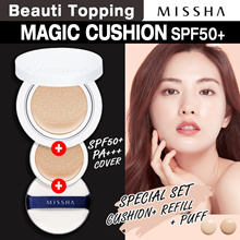 2018 RENEWAL!★MISSHA★Magic Cushion SPF50+ PA+++ /M Magic Cushion Moisture SPF50+ PA+++[Beauti Toppin