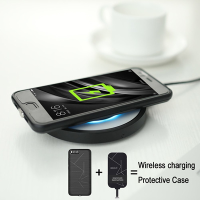 los angeles 66a3f eeadd wireless charger case xiaomi mi 6 mi6 oneplus 5 oneplus5 wireless charging  Magic Case soft TPU