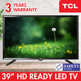 TCL 39 39D2900 HD READY LED DVBT2 LED DIGITAL TV. 3 Years Warranty. pSB Safety Mark Approved