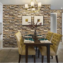 3d立体砖纹客厅卧室背景墙墙纸自粘防水自贴壁纸装饰墙贴贴纸10米
