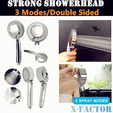 Free Delivery/Two Designs/3 mode/Double Sided Shower Head+ Spa Bath - High Pressure -