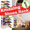 AMAZING SHOE RACK 10 TINGKAT = 30 PAIRS - Rak Sepatu Tingkat