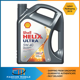 [SHELL] [NEW STOCK] -Shell Helix Ultra Engine Oil 5W40 / [Toyota] Super Long Life Coolant 50/50