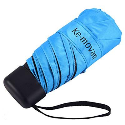 571767a4a4db Ke.movan Travel Compact Umbrella Windproof Mini Sun Rain Umbrella Ultra  Light Parasol - Fits Men W