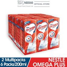 NESTLE OMEGA PLUS 6 Packs 200ml  x2 Multipacks
