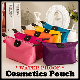 ◆ Cosmetics Pouch Make Up Bags Makeup Water Proof Travel Organizers Korean Fashion Women Storage