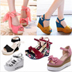 FLAT SHIPPING/ Super High Heels Waterproof Suede Shoes/ Patent Leather/Thin Heels/ Thick Heels/Flat Shoes /For Party Dinner Wedding Office Wear/ Sexy Shoes/Women Fashion High Heels/ Ladies Heels