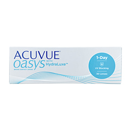 Johnson and Johnson Acuvue Oasys 1-Day with HydraLuxe BC 8.50mm/9.00mm (30pcs/box) PWR -1.00 ~ -8.00